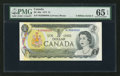 Canadian Currency: , BC-46a $1 1973 Fancy Serial Number. ...