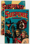 Golden Age (1938-1955):Horror, Suspense Comics #9 and 12 Group (Continental Magazines,19445-46).... (Total: 2 Comic Books)