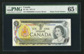 Canadian Currency: , BC-46a $1 1973 Radar Serial Number. ...