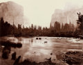 Photographs:19th Century, EADWEARD MUYBRIDGE (British, 1830-1904). Valley of the Yosemite,from Rocky Ford, 1872. Albumen from wet collodion negat...