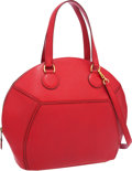 Luxury Accessories:Bags, Hermes Rouge Vif Epsom Leather Ile de Shiki Bag with Gold Hardware....
