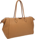 Luxury Accessories:Bags, Hermes 37cm Tabac Camel Togo Leather Haute Paris Bombay Bag. ...