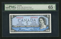 Canadian Currency: , BC-31a $5 1954 Devil's Face B/C Prefix. ...