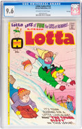 Bronze Age (1970-1979):Cartoon Character, Little Lotta #114 File Copy (Harvey, 1975) CGC NM+ 9.6 Off-white towhite pages....