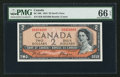 Canadian Currency: , BC-30b $2 1954 Devil's Face H/B Prefix . ...