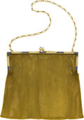 Estate Jewelry:Purses, Sapphire, Gold Mesh Purse. ...