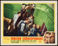 """Movie Posters:Hitchcock, Foreign Correspondent (Masterpiece Productions, R-1948). Lobby Card (11"""" X 14""""). Hitchcock.. ..."""