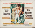 "Movie Posters:Adventure, His Majesty O'Keefe (Warner Brothers, 1954). Half Sheet (22"" X28""). Adventure.. ..."