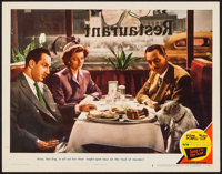 """Song of the Thin Man (MGM, 1947). Lobby Card (11"""" X 14""""). Mystery"""