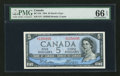 Canadian Currency: , BC-31b $5 1954 Devil's Face . ...