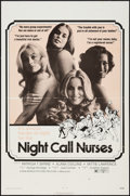 "Movie Posters:Sexploitation, Night Call Nurses (New World, 1972). One Sheet (27"" X 41"").Sexploitation.. ..."