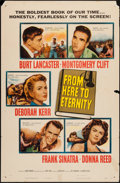 "Movie Posters:Academy Award Winners, From Here to Eternity (Columbia, 1953). One Sheet (27"" X 41""). Academy Award Winners.. ..."