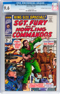 Silver Age (1956-1969):War, Sgt. Fury and His Howling Commandos Annual #5 Don/Maggie Thompson Collection pedigree (Marvel, 1969) CGC NM+ 9.6 Off-white to ...