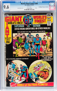 World's Finest Comics #206 Don/Maggie Thompson Collection pedigree (DC, 1971) CGC NM+ 9.6 White pages