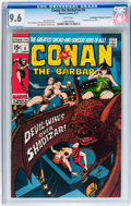 Bronze Age (1970-1979):Adventure, Conan the Barbarian #6 Don/Maggie Thompson Collection pedigree (Marvel, 1971) CGC NM+ 9.6 White pages....