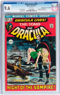 Bronze Age (1970-1979):Horror, Tomb of Dracula #1 Don/Maggie Thompson Collection pedigree (Marvel,1972) CGC NM+ 9.6 White pages....