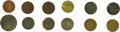 Advertising:Small Novelties, 19th Century Tokens Issued by Famous Philadelphia Coin Dealers.Dealers included are: Edward Cogan - 3 tokens, circa 1860, s...(Total: 12 pieces)