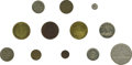 Advertising:Small Novelties, Collection of Tokens Issued by Philadelphia Die Sinkers and TokenManufacturers. James A. Allen die sinker, circa 1900, very...(Total: 22 pieces)