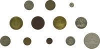 Collection of Tokens Issued by Philadelphia Die Sinkers and Token Manufacturers. James A. Allen die sinker, circa 1900...