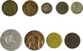 Advertising:Small Novelties, Pennsylvania Tokens and Medals From Cities Other Than Pittsburgh and Philadelphia. Sharpless Family Reunion, Chester, Pa., r... (Total: 18 pieces)