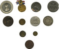 Advertising:Small Novelties, A Balance of Collections - Medals Mostly From Pennsylvania. Included are: Aug. Sage Historical Series No. 4, Carpenter's Hal... (Total: 20 pieces)