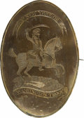 Political:Miscellaneous Political, Unique and Historically Important Sword Belt Plate Worn by a Member of Washington's Escort for His Inauguration on April 30, 1... (Total: 2 items)