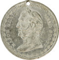 Political:Tokens & Medals, 1880 Winfield Scott Campaign Medal in White Metal. Listed in Sullivan-Dewitt as WS 1852-6, this token was often muled into v...