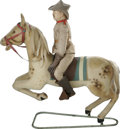 Political:3D & Other Display (1896-present), Teddy Roosevelt on Horseback Steiff Toy The Steiff Toy Co. has longbeen the foremost manufacturer of the teddy bear. As the...