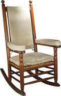Political:Miscellaneous Political, President John F. Kennedy's Personal Rocking Chair from his WhiteHouse Bedroom. John F. Kennedy suffered from well-document...