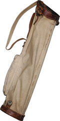 Political:Miscellaneous Political, Important John F. Kennedy Personally Owned and Used Golf Bag, withImpeccable Provenance. Few relics of this beloved preside...