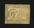 Colonial Notes:Continental Congress Issues, Continental Currency February 26, 1777 $8 Choice About New+++. Asuperlative example for the grade from this scarcer Baltimo...