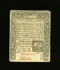 Colonial Notes:Connecticut, Connecticut March 1, 1780 10s About New. A center fold and a cutcancel inhabit this delightful example....
