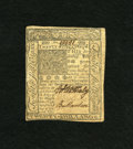 Colonial Notes:Delaware, Delaware January 1, 1776 20s Extremely Fine-About New. A couple ofcenter folds are found on this note with two bold signatu...