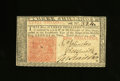 Colonial Notes:New Jersey, New Jersey March 25, 1776 3s About New. Nice signatures and colorhighlight this once-folded attractive note....