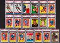Hockey Cards:Lots, 1954 - 1967 Topps Hockey Card PSA Group (19). ...
