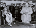Miscellaneous Collectibles:General, Minnesota Fats and Jesse Owens Signed Photographs Lot of 2....