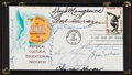 Baseball Collectibles:Others, 1965 Golf Legends Multi Signed First Day Cover....