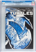 Modern Age (1980-Present):Humor, Teenage Mutant Ninja Turtles #2 (Mirage Studios, 1984) CGC NM- 9.2Off-white to white pages....