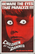 """Movie Posters:Science Fiction, Children of the Damned (MGM, 1963). One Sheet (27"""" X 41""""). ScienceFiction.. ..."""