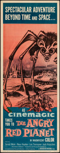 "Movie Posters:Science Fiction, The Angry Red Planet (American International, 1960). Insert (14"" X 36""). Science Fiction.. ..."