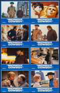 "Movie Posters:Academy Award Winners, Midnight Cowboy (United Artists, R-1981). Uncut International Lobby Card Set of 8 (11"" X 14""). Academy Award Winners.. ... (Total: 8 Items)"