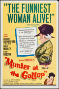 "Movie Posters:Mystery, Murder at the Gallop (MGM, 1963). One Sheet (27"" X 41""). Mystery....."