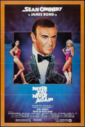 """Movie Posters:James Bond, Never Say Never Again (Warner Brothers, 1983). One Sheet (27"""" X 41""""). James Bond.. ..."""