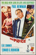 "Movie Posters:Thriller, The Prize (MGM, 1963). One Sheet (27"" X 41""). Thriller.. ..."