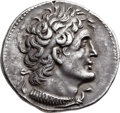 Ancients:Greek, Ancients: PTOLEMAIC EGYPT. Ptolemy V or VI (204-180 BC or 180-145BC). AR tetradrachm (27mm, 14.22 gm, 12h)....