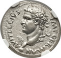 Ancients:Roman Imperial, Ancients: Vitellius (AD 69). AR denarius (18mm, 3.59 gm, 7h)....