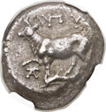 Ancients:Greek, Ancients: THRACE. Byzantium. Ca. 387-339 BC. AR tetradrachm (21mm, 14.93 gm)....
