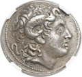 Ancients:Greek, Ancients: THRACIAN KINGDOM. Lysimachus (305-281 BC). AR tetradrachm(30mm, 16.68 gm, 12h)....