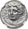 Ancients:Greek, Ancients: THESSALY. Larissa. Ca. 380-365 BC. AR drachm (19mm, 5.90gm, 11h)....