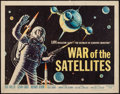 "Movie Posters:Science Fiction, War of the Satellites (Allied Artists, 1958). Half Sheet (22"" X28""). Science Fiction.. ..."